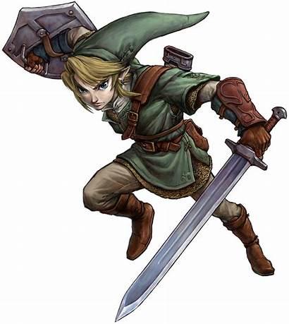 Zelda Transparent Link Links Title Broken Button