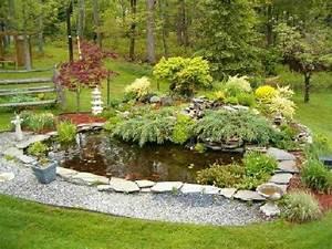 Amenager Un Petit Jardin Sans Pelouse : am nager un jardin aquatique de r ve c 39 est la port e de tous ~ Melissatoandfro.com Idées de Décoration
