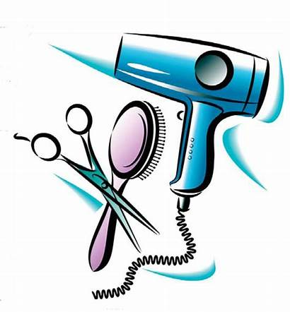 Clipart Cosmetology Salon Cosmetologist Clip Cliparts Hair