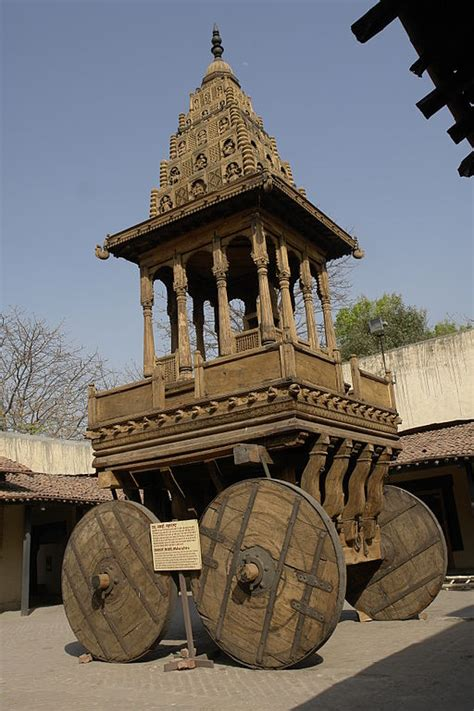 filewooden chariot  maharashtra crafts museum