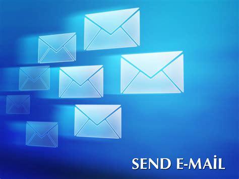 sending email  backgrounds presnetation