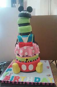 4 Out Of 6 Tier Mickey Mouse And Friends Themed Birthday ...