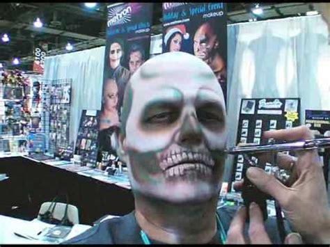 creepy skull halloween makeup tutorial youtube