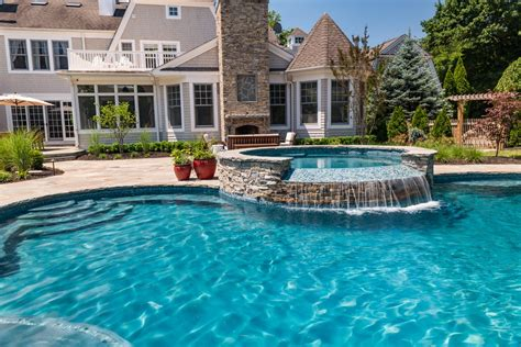 Inground Pools Rumson Nj By Pools By Design New Jersey