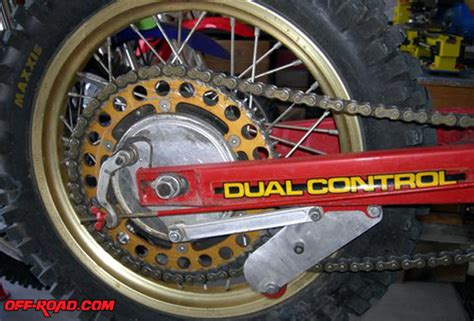 Dirt Bike Tech The Ultimate Chain Guide Tool