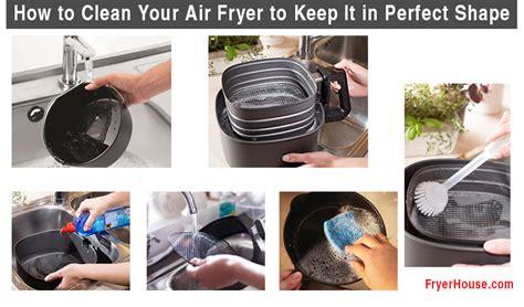 fryer air clean keep dirty kitchen