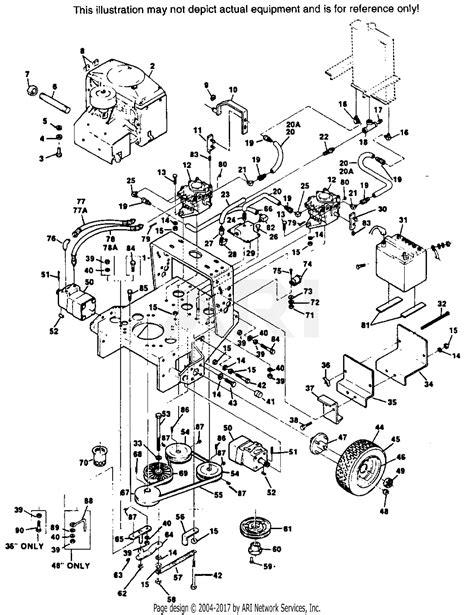 Scag Swz Parts Diagram For Engine Deck