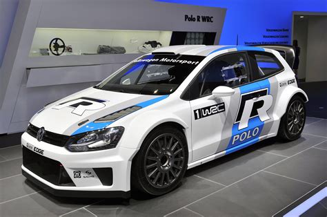 Volkswagen Polo R Wrc Looks Ready To Tackle The Tarmac