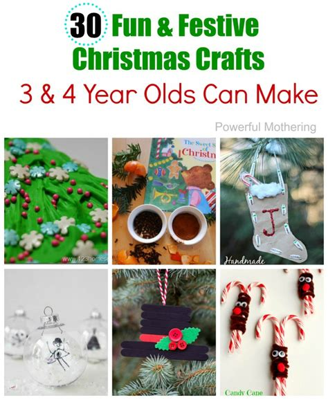 easy   preschool christmas crafts