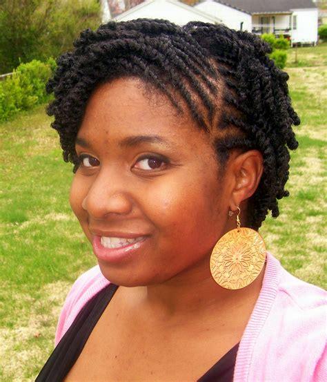 Flat twist styles for short natural hair   BakuLand