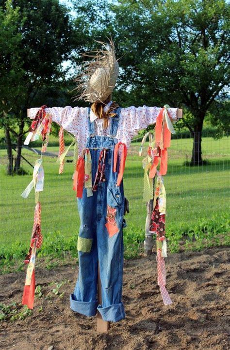 25 best ideas about scarecrow garden on