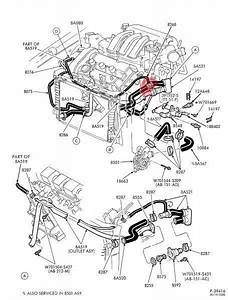 Ford Taurus Engine Cooling Diagram