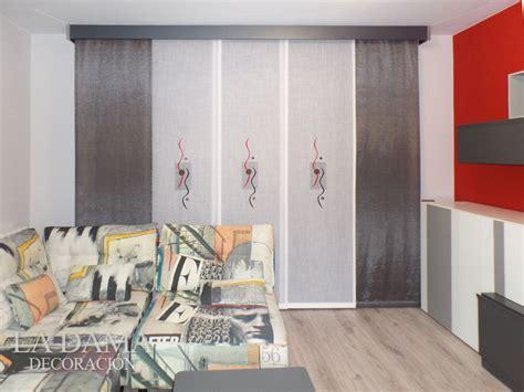 panel japones bordado salon moderno gris  rojo la dama