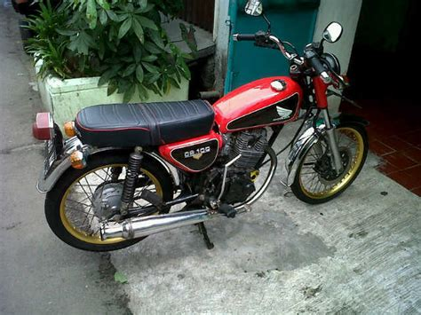 Cb Modif by Honda Cb Modif 6 Speed Stater Tiger For Sale