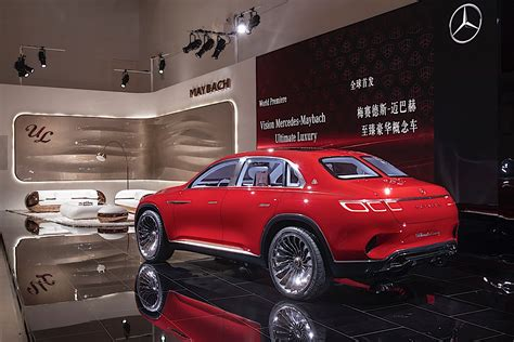 Vision Mercedes-maybach Ultimate Luxury Stuns At Auto