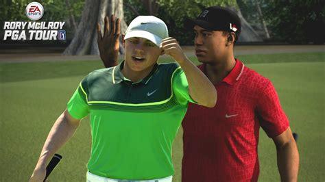 EA SPORTS RORY McILROY PGA Tour vs Tiger Woods PGA Tour ...
