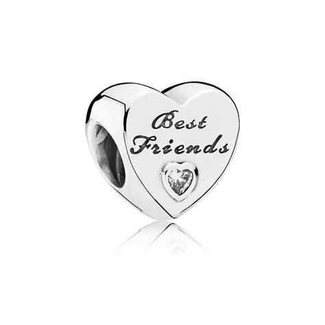 Pandora Charm Best Friend Friendship Pandora Silver Charm Pandora Estore