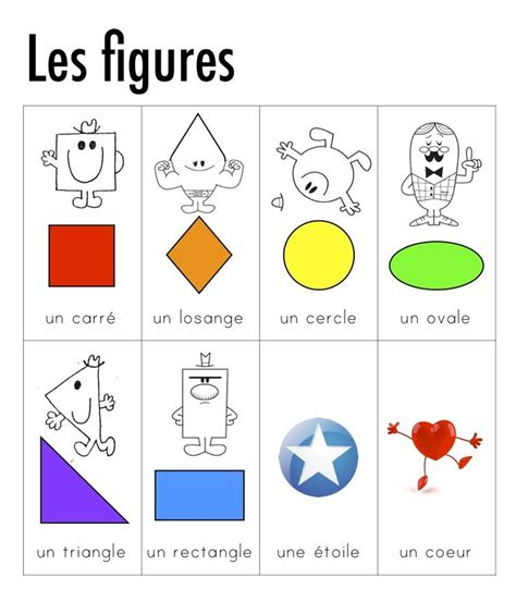 formes geometriques en anglais 17 best ideas about les formes g 233 om 233 triques on formes geometrique formes