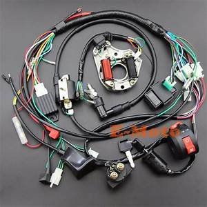 Full Electrics Wiring Harness 50 70 90 110 125cc Atv Quad