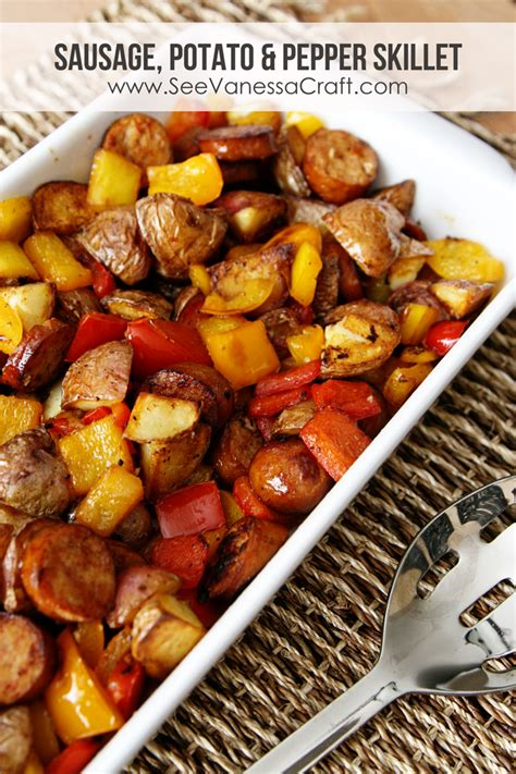 sausage potato skillet potato skillet recipes dishmaps