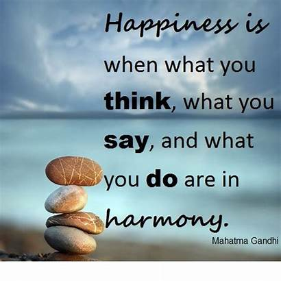 Positive Gandhi Thinking Power Know Last Wants