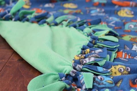 fleece knot blanket thriving home