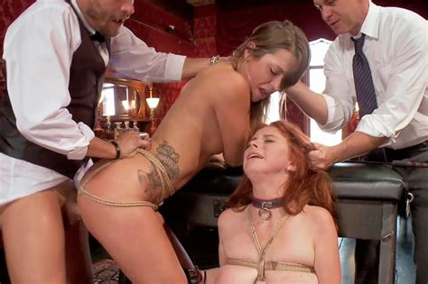 Black Master Slave Bondage Hose Lesbian Pantie