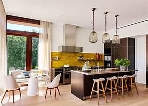 modele de cuisine moderne 34 interieurs qui nous inspirent With modele de decoration de cuisine