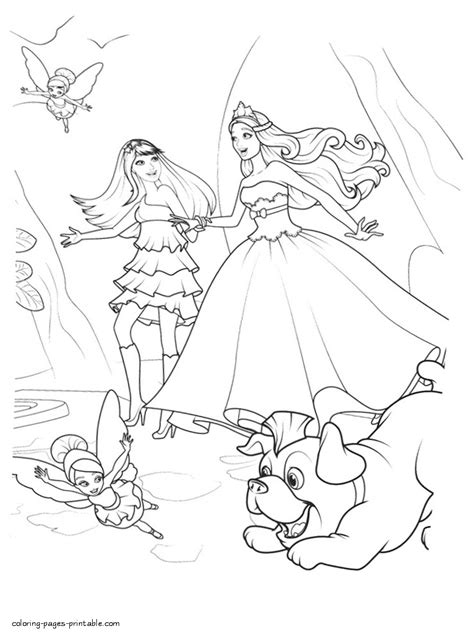 barbie princess   popstar coloring page coloring pages printablecom