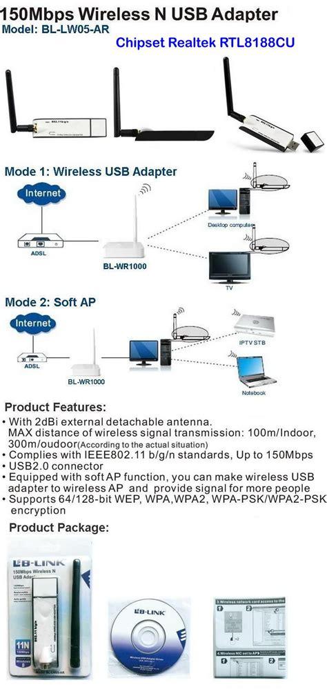 ordinateur de bureau wifi wifi usb pour pc de bureau ordinateur portable tablette