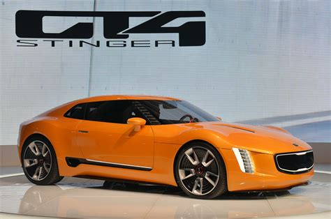 Kia Gt4 Stinger Concept Introduced In Detroit Carscoza