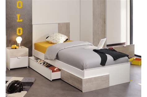 chambre avec rangement lit enfant avec tiroir rangement trendymobilier com