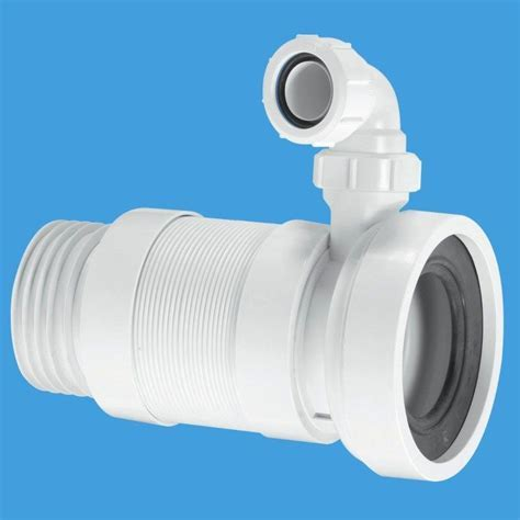 McAlpine Medium Flexible Toilet Pan Connector 3.1 2 with