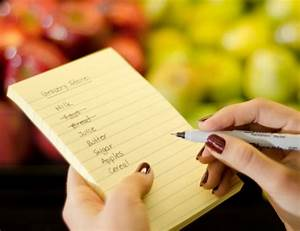 Write a Shopping List - Clevernotes.ie