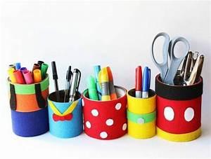 Comment Faire Un Bureau Soi Meme : 1001 id es pour fabriquer un pot crayon adorable soi m me diy pinterest rangement ~ Melissatoandfro.com Idées de Décoration