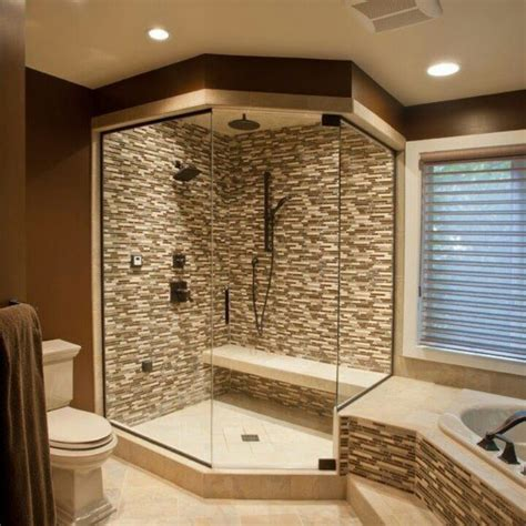 walk in bathroom shower ideas enjoy bathing with walk in shower designs bath decors