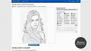 Online Pencil Sketch Drawing Tool To Draw Pencil Portrait By Britec