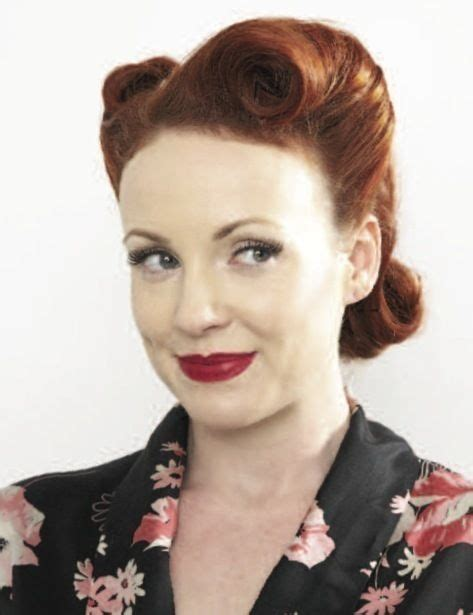 1940s Victory Rolls Hairstyles by Victory Rolls Beautiful Hair Hair Styles Roll