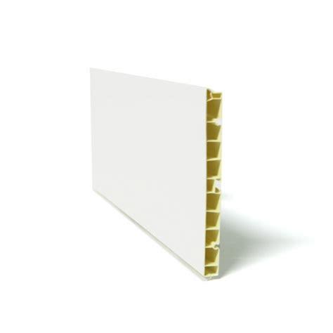 plinthe de cuisine plinthe de cuisine pvc blanc brillant l200 x h15 cm sokleo