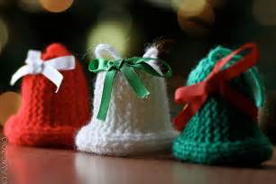 knitted christmas bells flickr photo sharing