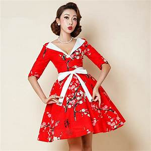 Aliexpress.com : Buy vintage 50s Japan cherry blossoms v ...