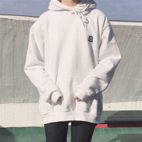 Sweater white aesthetic tumblr aesthetic asian - Wheretoget