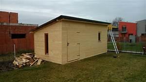Konstrukce zahradního domku