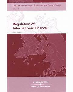 Regulation Of International Finance - Banking    Finance