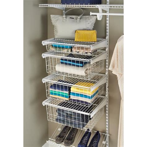 Where To Buy Closetmaid by Closetmaid 17 In D X 21 In W X 27 In H Shelftrack 4