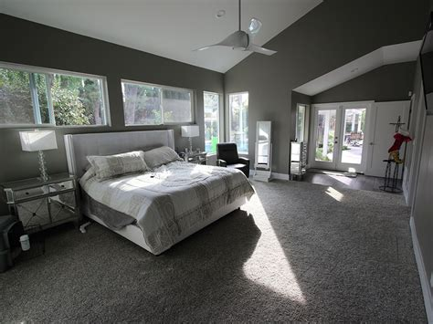 a modern kitchen home remodel and master bedroom