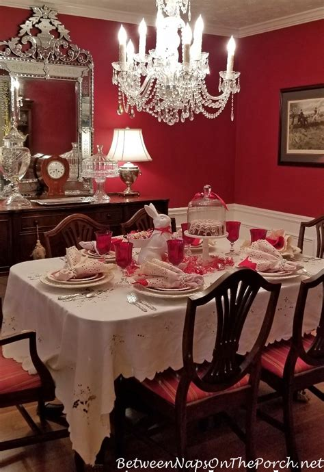 valentines day table setting   guest appearance