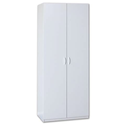 Closetmaid Cabinets White - closetmaid 80 in h x 36 in w x 20 in d white lamninate