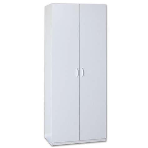 closetmaid 48 wide wardrobe cabinet closetmaid 80 in h x 36 in w x 20 in d white lamninate