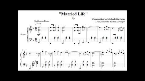 "• 35 млн просмотров 2 года назад. Disney's Up: ""Married Life"" - (Solo Piano Sheet Music) - YouTube"